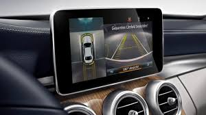 Ever wondered how to use the automated parallel parking feature on your mercedes? Active Parking Assist Including Parktronic Mercedes Benz C Class