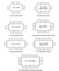 standard dining table sizes. Dining Table Size For 6 Inside 8 Tables Plans 2 Standard Sizes R