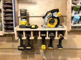 wall mounted cordless drill impact