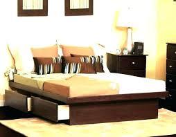 diy king platform bed with storage. King Size Platform Bed With Storage  Headboard . Diy