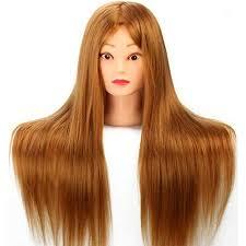 Pour Blonde Coiffure Dummy Tête Cheveux Mannequin