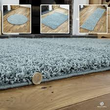 details about duck egg blue small x extra large modern rug thick 5cm high pile gy rugs