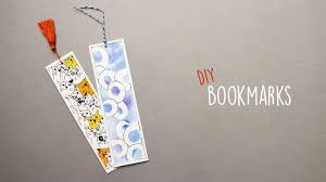 Cool Bookmark Designs To Make 2 Easy Bookmarks Diy Bookmarks Bookmark Ideas