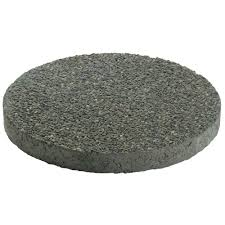 mutual materials 16 in x 16 in round exposed aggregate concrete