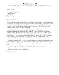 Graduate Cover Letter Examples New Graduate Nursing Cover Letter