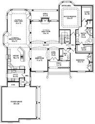 4 bedroom open floor plan plans split house four 2018 also outstanding