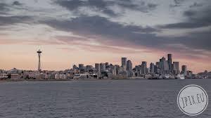 Seattle Cityscape Seattle Skyline Usa