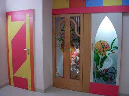 fabulous fantastic room door designs pooja room single door designs with glass rift decorators