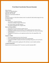 Front Desk Receptionist Resume Sample 6060 front desk receptionist resume sample formatmemo 45