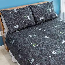 star trek borg duvet cover and pillowcases