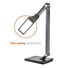 lamps for office. Modren Lamps TaoTronics Stylish Metal LED Desk Lamp Office Light With USB Charging  Port 5 Color Modes 6 Brightness Levels Touch Control Timer Night Light  On Lamps For