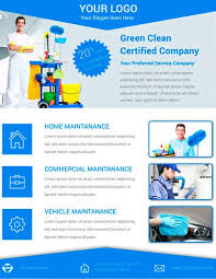 Commercial Cleaning Flyers Download Free Cleaning Service Flyer Psd Template For Photoshop