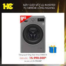 Siêu Thị Điện Máy HC - Máy giặt sấy LG Inverter 9 Kg FC1409D4E lồng ngang  👉 Mua ngay: https://hc.com.vn/ords/p--may-giat-lg-fc1409d4e ☎  𝟏𝟖𝟎𝟎𝟏𝟕𝟖𝟖 (𝐦𝐢𝐞̂̃𝐧 𝐩𝐡𝐢́) 📜 Số lượng có hạn! Sản phẩm sẽ