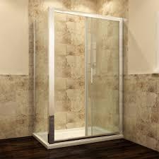 bathroom frameless shower enclosure pivot door hinges cubicle 6mm glass screen 700 1600x700mm for