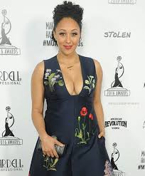 tamera mowry at the makeup artists hair stylist awards 2016
