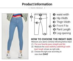Us 14 4 68 Off Stretchy Skinny Women Jeans Black Pencil Pants Casual 2019 Nes High Waist Mom Jeans Full Length Blue Ladies Push Up White Denim In
