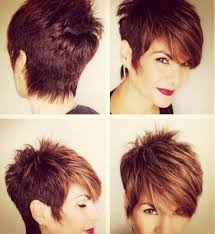 Short Hairstyles For Women Over With Thick Hair 2019