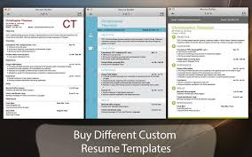 Resume Maker For Mac Resume Builder Professional Resume Builder