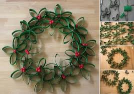 7 Last Minute Christmas Crafts To Keep Kids Busy  InhabitotsChristmas Crafts Made With Toilet Paper Rolls