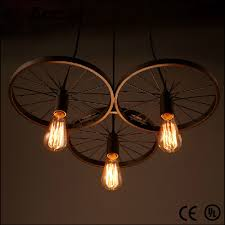 Retro Diy Loft Fietswielen Edison Hanglampen Plafondlamp Armatuur Buy Wielen Edison Hanglampenwielen Edison Hanglampen Plafondlamp Armatuurretrot