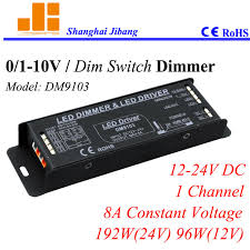 led driver circuit diagram promotion shop for promotional led shipping 0 10v led dimmers 1ch pwm driver 0 10v led driver touch dim control 1 channel 12v 24v 8a 192w pn dm9103