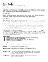 Teacher Sample Resume Resume Samples