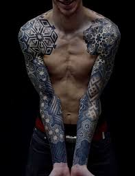 татуировки с геометрическими узорами искусство татуировки