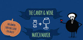 Chart For Pairing Wine With Halloween Candy
