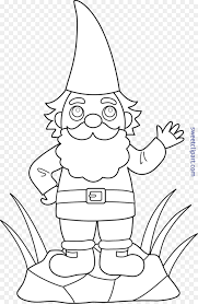 garden gnome flower garden drawing coloring book gnome png 5212 7984 free transpa garden gnome png