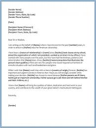 Character Reference Letter For A Mother Climatejourney Org
