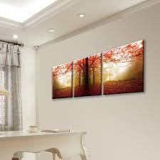 Acrylic wall frames Large Interior Exterior Enjoyable Furinno 20 In 60 In Autumn Leaves Printed Acrylic Wall Marketingberatungco Custom Acrylic Wall Frames Splendid Acrylic Wall Frames