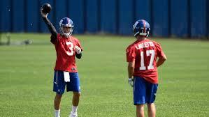 New York Giants Qb Depth Chart Alex Tanney News Sny