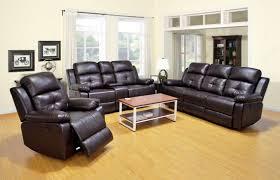 Orange Living Room Set Casey Dark Brown Power Reclining Living Room Set With Chair