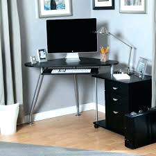 corner office computer desk. Corner Desk Small Spaces Office Furniture Medium Desks Design With Scenic For A . Wooden Home Computer
