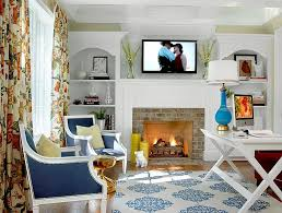 blue home office. View In Gallery Blue Accents Give The Home Office A Fresh, Modern Look [Design: Hip \u0026