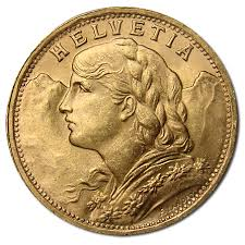 Swiss 20 Franc Gold Coins Gold Spot Price Current Gold