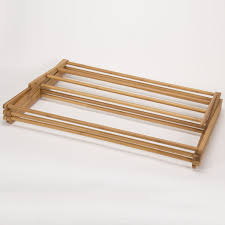 bamboo eco friendly clothes drying rack