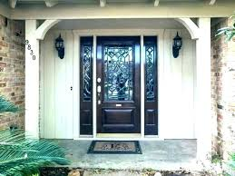 entry door with one sidelight steel front entry doors with sidelights fiberglass front door with sidelights