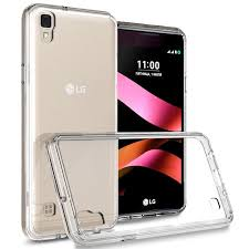 lg x style. coveron lg x style / tribute hd case, clearguard series clear hard phone cover lg o