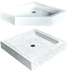 shower bases pans terrazzo shower bases base pan installation 9 bathrooms shower base small pan shower shower bases