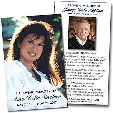 Funeral Prayer Cards Custom Prayer Cards Archives Custom Tributes Custom Tributes