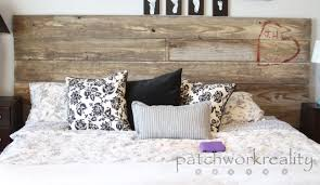 ana white  repurposed rustic king size headboard  diy projects