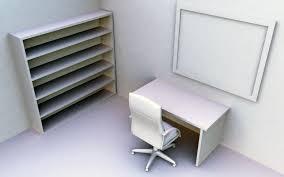 Computer, red, room, locker, widescreen ...