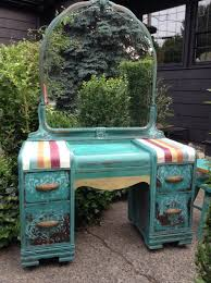 art deco painted furniture. painted vanity vintage with mirror modern art deco furniture o