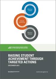 Raising Student Achievement Through Targeted Actions Education