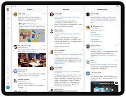 Ipad Web Design App Fenix The Full Screened Full Featured Ipad Twitter Client