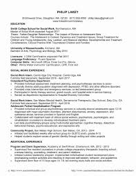 Msw Sample Resume Inspirational Bunch Ideas Resume Format For Msw