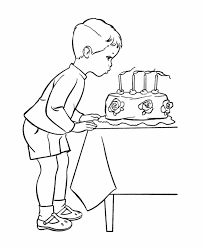 Small Picture BlueBonkers Kids Birthday Party Coloring Page Sheets Blowing
