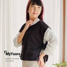 Jual [MyYoora] Eleanor Vest Outer Pakaian Wanita JK537 - BLACK ...
