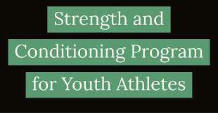 Strength And Conditioning Program For Youth Football Athletes